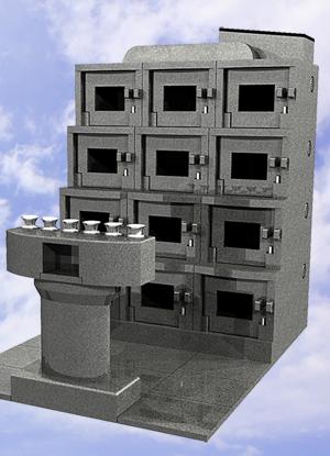 お墓のマンションイメージ