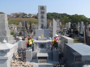 お墓の施工例